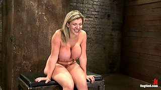 Milf With Ee Tits Has So Many Orgasms Ripped Out Of Hercries From The Brutal Emotion Of It All - HogTied