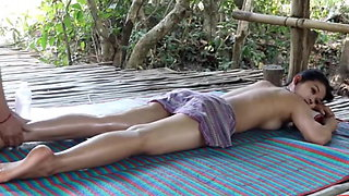 Countryside Massage with Fresh air relaxing body