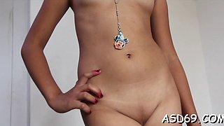 petite asian gal gives a blow movie clip 1