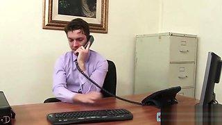 Horny Boss Nails Good Looking Secretary