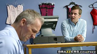 Brazzers - Real Wife Stories - If The Bra Fits Fuck It scene starring Carmen Valentina