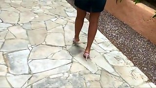 High heels vacation