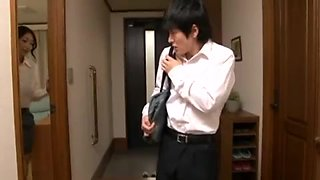 OKSN-136 - Reiko Kobayakawa Seduces & Fucks Her Son
