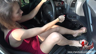 483 You turn on when my heels on the gas pedal