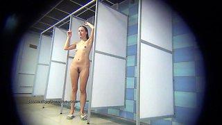 Public shower rooms hidden cam