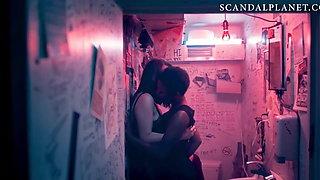 Samira Wiley Lesbian Fingering Scene on ScandalPlanet