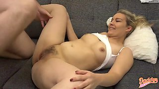 Daddy fuck me on the couch