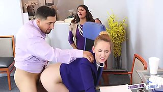 Gigi and Katalina dads swap them