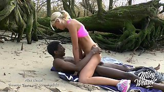 Fucked by stranger bbc at the beach
