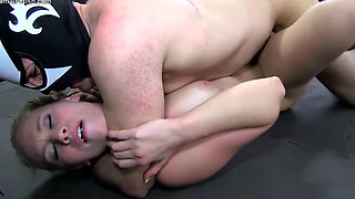 Dakota and Bt sex wrestling
