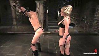 bondage fun with a very kinky mistress