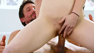 redhead milf jessica ryan gets fucked hard in her hairy pussy