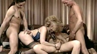 Mesmerizing pale skin blonde milf with all of her lovers