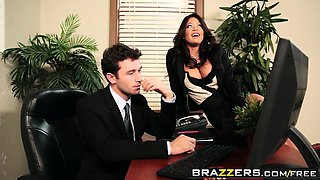 Brazzers - Big Tits at Work - Bored Boss Cock