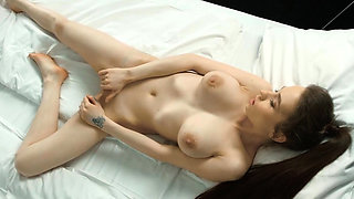 Hot tits virgin Koza Dereza masturbating cunt