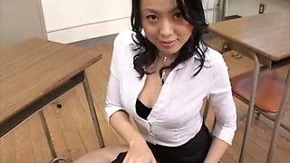 Fabulous Japanese chick in Crazy CFNM, Handjob JAV scene