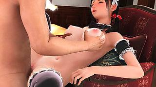Hot 3d maid fucked hard