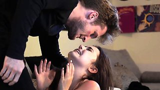 Brutal anal fuck machine squirt and extreme pleasure girl