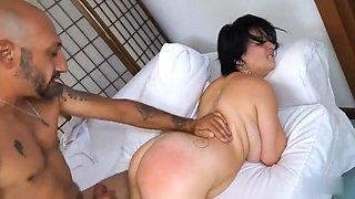 Italian busty mom anal