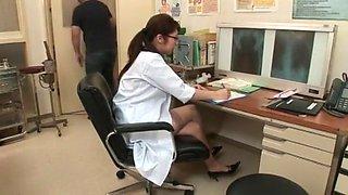 Best Japanese slut Harumi Asano in Crazy Nurse, Stockings JAV movie