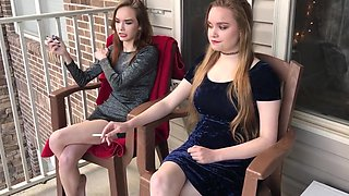 Brooke   lacey smoking sisters
