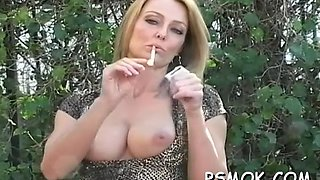 smoking scene with busty babe feature movie 1