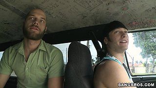 Bang Bus Crew Jumps On Cherry