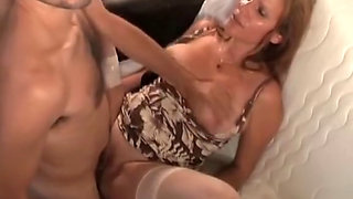Nasty MILF Bitch Anal Abuse