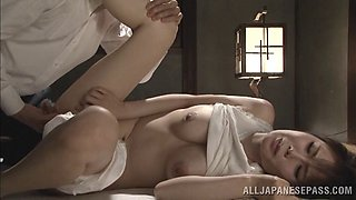 Naughty Japanese housewife enjoys hardcore fucking