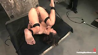 fucking machines fun with a horny asian babe