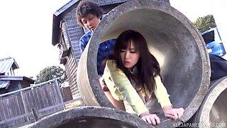 Awesome Spicy milf Sakura Miyuki enjoys a wild toy insertion action