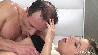 Crazy pornstars Adriana, George in Horny Romantic, Blonde adult movie