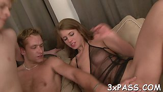 bisexual threesome fun blowjob hard 2