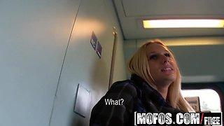 Mofos - Public Pick Ups - Fuck in the Train Toilet starring