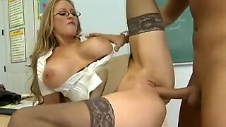 Teacher gets Fucked HARD by her student in her WET PUSSY