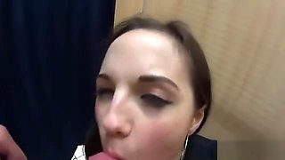 Charming czech chick is seduced in the hypermarket and reamed