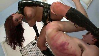 Mistress megan - the punishment of slave