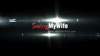 Natural Swinger Wife Rough Sex
