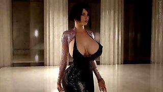 3d huge boobs animation milf hardcore sex