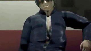 3D Tentacled Man Fucks Teen!