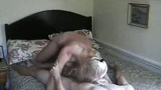Aunt knows how to ride her guy in front of Cam-Real amat...