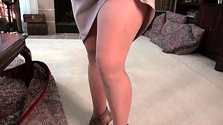 American moms in pantyhose Brandi, Penny and Kay
