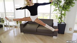 Blonde chick Kenzie is happy to be ravished by a nasty fellow