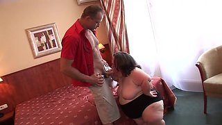Amazing pornstar Gidget The Monster Midget in incredible facial, big tits adult movie