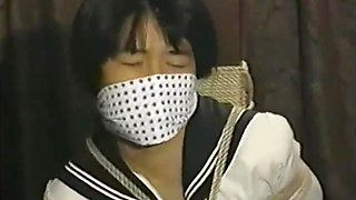 japanese school girl bound and gagged
