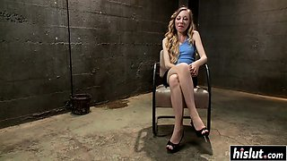 Monster cock punished a sweet girl