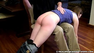 Roxie spanked otk