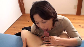 Beautiful mature Asian housewife getting fucked