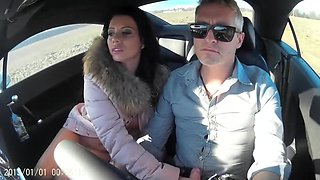 VickyLove car sex part2.