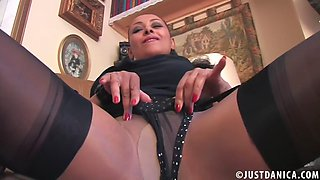 danica collins in tights and nylons